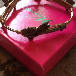 NWT Bourbon and Bowties tomahawk bangle